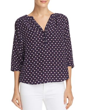 Joie Yareli Printed Silk Top