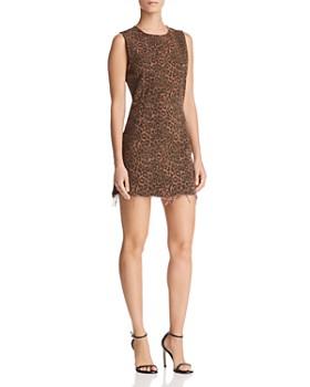 alexanderwang.t - Leopard-Print Mini Dress