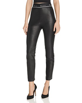 T by Alexander Wang - Skinny Leather Pants