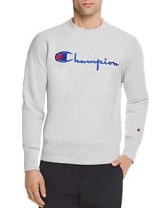 Champion Reverse Weave Script Logo Crewneck Sweatshirt - Bloomingdale's_0