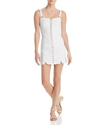 a1126b83759 For Love & Lemons Monika Denim Mini Dress | Bloomingdale's