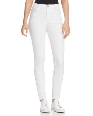 Pistola High-Rise Skinny Jeans in White Ferrari 2977356