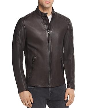 Boss Jeepo Leather Moto Jacket