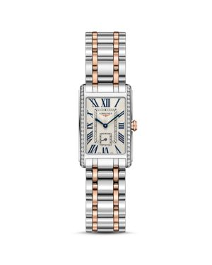 LONGINES Dolcevita Diamond Two-Tone Watch, 20.5Mm in Gold