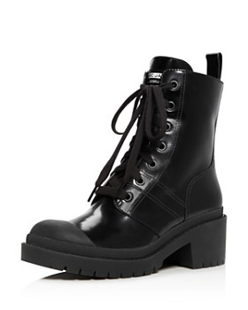 MARC JACOBS - Women's Bristol Leather Lace Up Booties