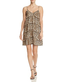 ATM Anthony Thomas Melillo - Leopard Silk Slip Dress
