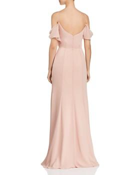 Watters - Aldridge Cold-Shoulder Gown