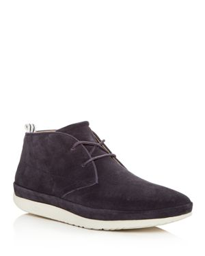 Men'S Cali Suede Chukka Boots, Navy Leather