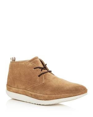 Men'S Cali Suede Chukka Boots, Chestnut Leather