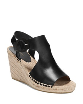 Via Spiga - Women's Nolan Leather Espadrille Wedge Sandals
