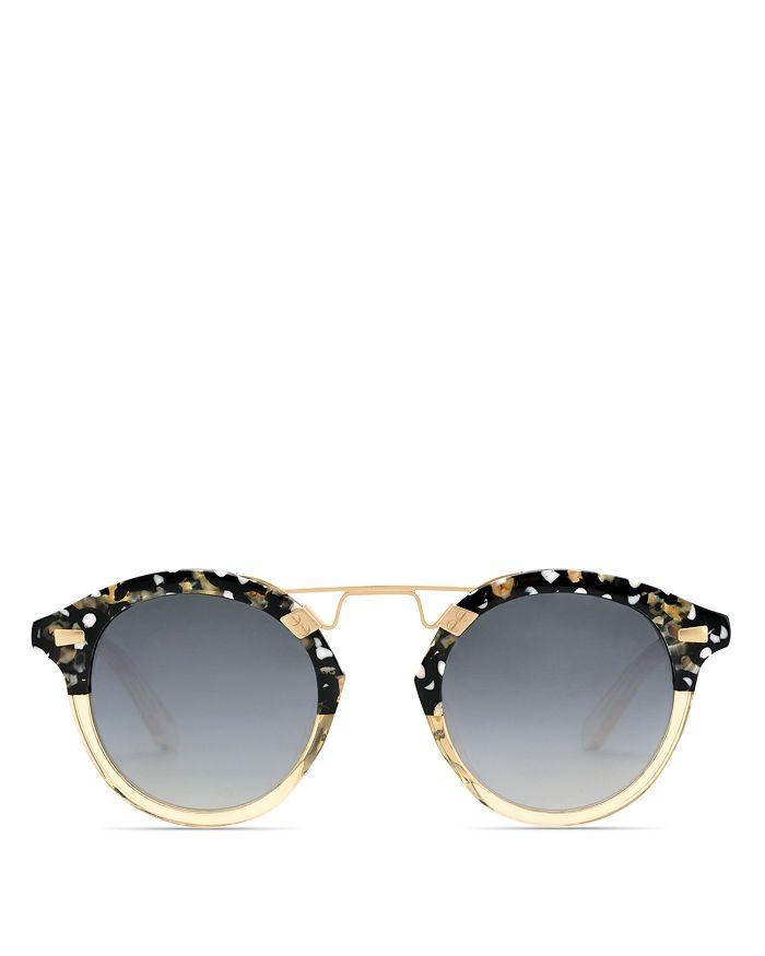 Krewe - Women's 24K Round Sunglasses, 48mm