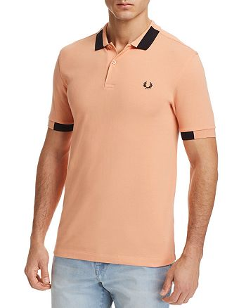 Fred Perry - Block Tipped Pique Polo Shirt