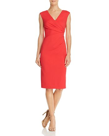 Adrianna Papell - Ruched Sheath Dress