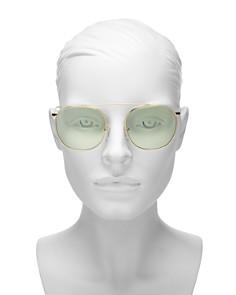 Illesteva - Women's Mykonos II Aviator Sunglasses, 53mm