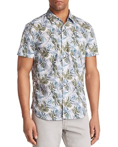 AG - Nash Leaf Print Button-Down Shirt