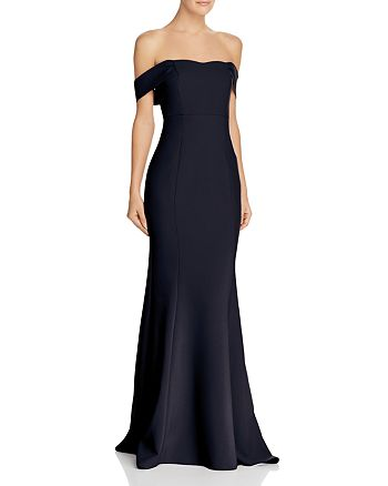 LIKELY - Bartolli Off-the-Shoulder Mermaid Gown