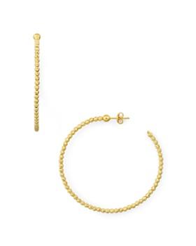 Officina Bernardi - Beaded Hoop Earrings