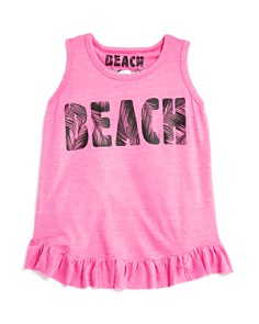 So Nikki... - Girls' Tulip-Back Beach Tank - Big Kid