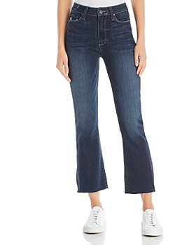 PAIGE - Colette Crop Flare Jeans in Anza - 100% Exclusive