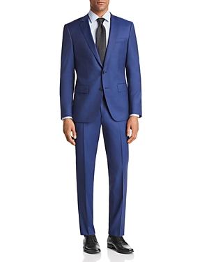 Boss Huge/Genius Slim Fit Twill Solid Suit