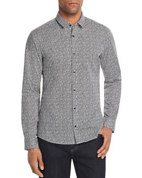 HUGO - Ero Pattern Slim Fit Button-Down Shirt