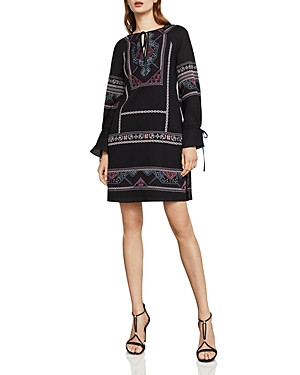 Bcbgmaxazria Aicha Embroidered Shift Dress