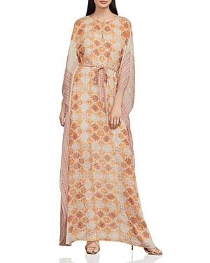 Bcbgmaxazria Gael Tile Print Maxi Dress