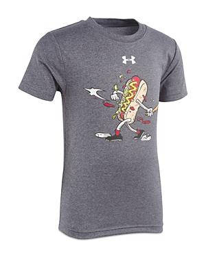 Under Armour Boys Home Run Hotdog Tee  Little Kid