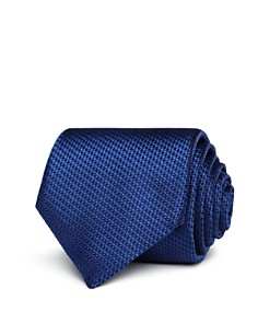 Canali Textured Non-Solid Classic Tie - Bloomingdale's_0