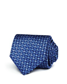 Canali Floret Medallion Classic Tie - Bloomingdale's_0