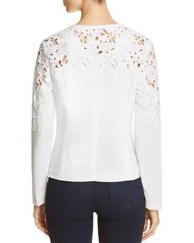 Bagatelle - Crochet Zip-Front Jacket