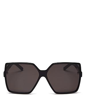 Saint Laurent Women\\\'s Betty Oversized Square Sunglasses, 63mm-Jewelry & Accessories