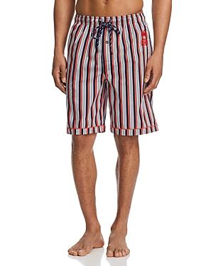 Psycho Bunny Plaid Loungewear Shorts