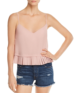 French Connection Pleated Peplum Cami