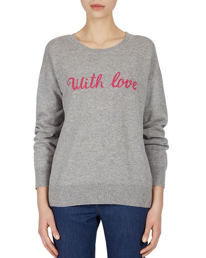 Gerard Darel - Fiona With Love Wool & Cashmere Sweater