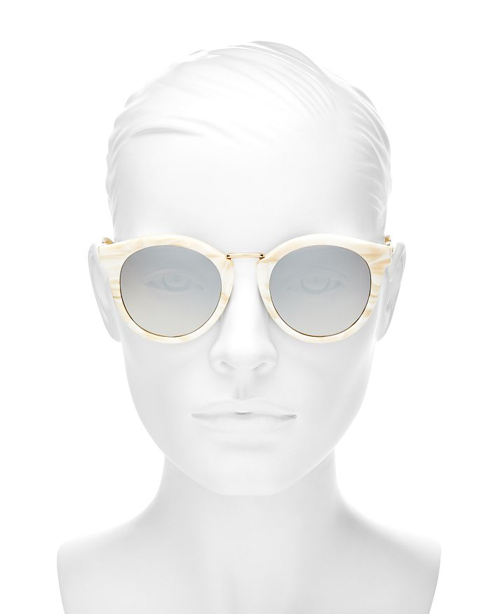 ca85bc8f85 kate spade new york - Women s Joylyn Mirrored Round Sunglasses