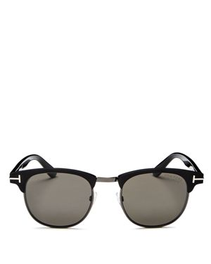 Tom Ford Men's Laurent Polarized Square Sunglasses, 51mm