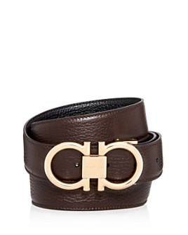 Salvatore Ferragamo - Men's Muflone Reversible Leather Belt