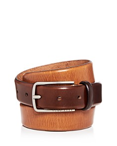 HUGO Chuck 3.0 Distressed Burnished Leather Belt - Bloomingdale's_0