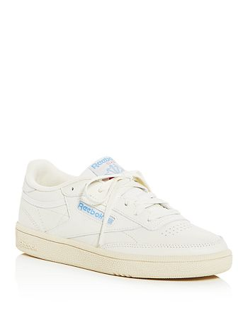 bd7a65ea9667 Reebok Women s Club C 85 Vintage Leather Lace Up Sneakers ...