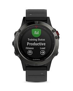 Garmin - fenix 5X Sapphire Premium Multisport GPS Smartwatch, 51mm