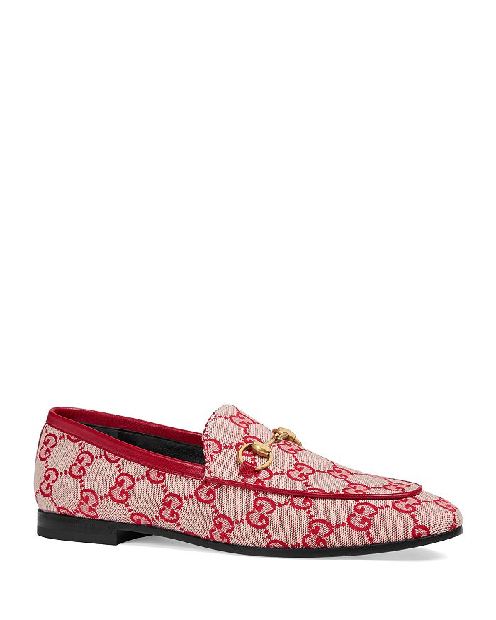 3ee98c2a9ef Gucci - Women s Jordan GG Canvas Loafers