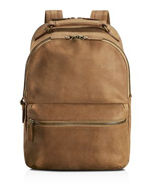 Shinola Outrigger Leather Runwell Backpack