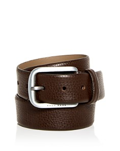 HUGO Curtis Leather Belt - Bloomingdale's_0