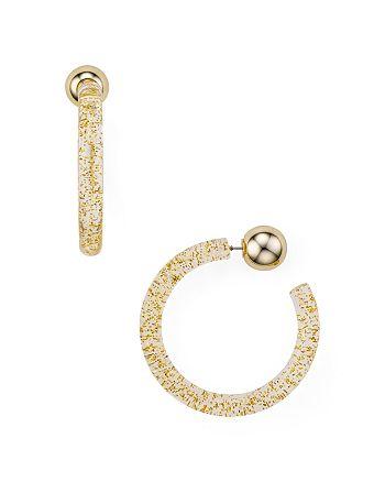 AQUA - Acrylic Hoop Earrings - 100% Exclusive