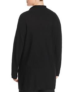 Marina Rinaldi - Aurora Asymmetric Stripe Wool Sweater