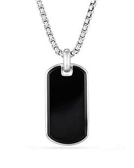 David Yurman - Exotic Stone Tag in Black Onyx