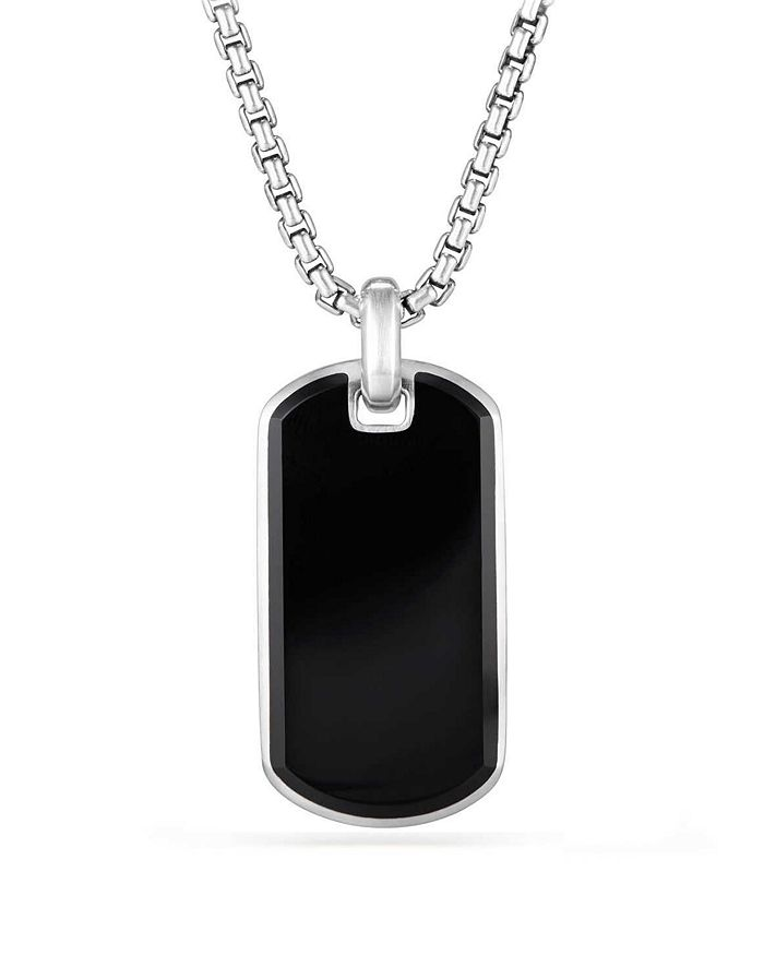 David Yurman - Exotic Stone Tag in Black Onyx