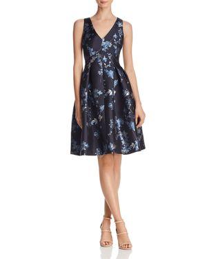 Eliza J Floral Jacquard Dress 2994439