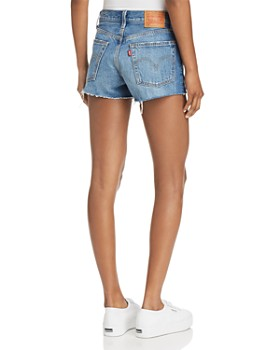 Levi's - 501 Distressed Denim Shorts in Back to Your Heart